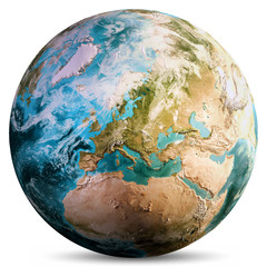 Wall Mural - Planet Earth globe