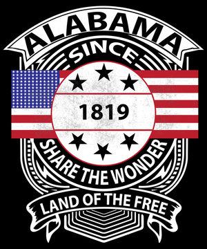 Alabama graphic