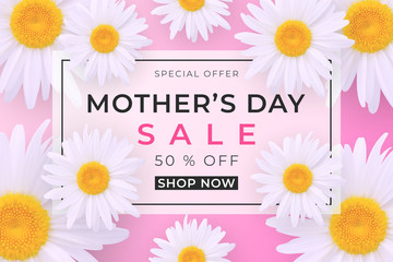 Mothers day sale background