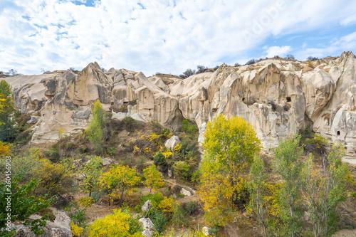Wall mural Open air museum in Cappadocia, Turkey