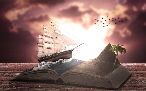 Adventures in an open book