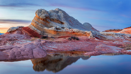 Wall Mural - White Pocket Vermillion Cliffs , Arizona, USA
