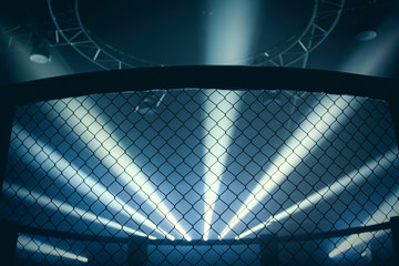 MMA Fight Cage , Octagon