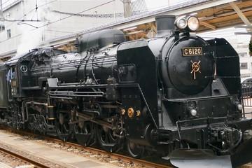 《蒸気機関車》秋田県大仙市