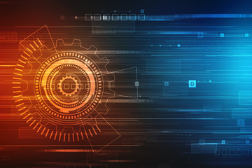 Digital Abstract technology background, Binary Background, futuristic background, cyberspace Concept