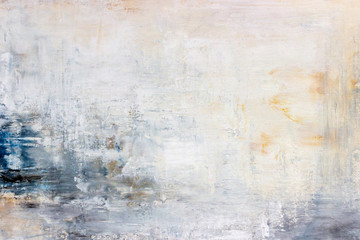 Obraz abstract acrylic painting on canvas  - fototapety do salonu