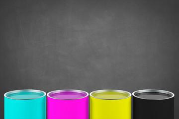 CMYK Colour Buckets