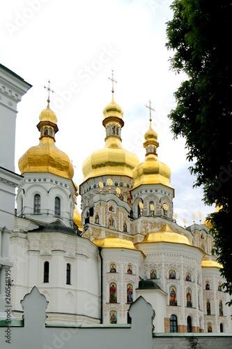 kiev-pechersk lavra monastery, Kyiv, kiev, church, cupola
