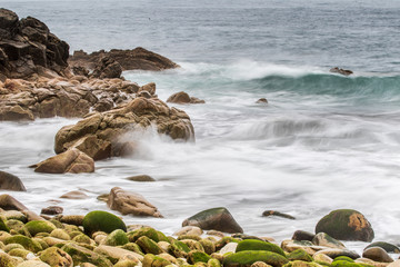 Fototapete - cornwall Seascape