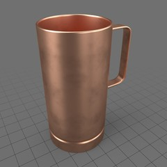 Copper tall mug