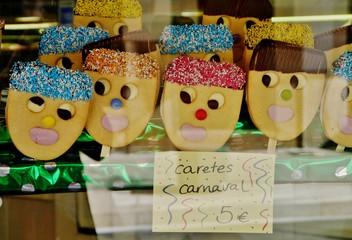 Karnevalsgebäck auf Mallorca
