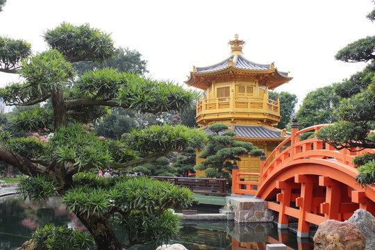 Honk Kong Park Pagode