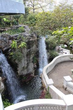 Wasserfall in HongKong