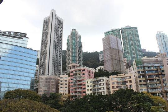 Skyscrapers HongKong