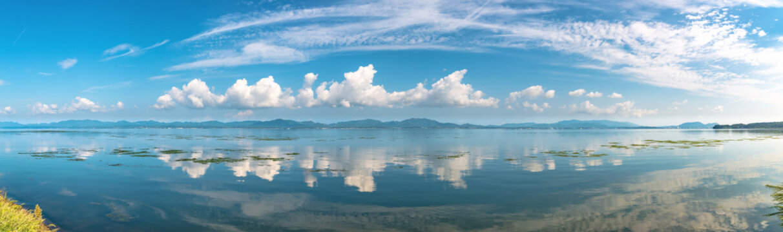 宍道湖の風景