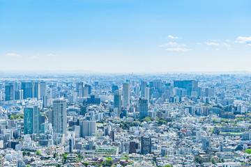 春の東京風景 Tokyo city skyline , Japan