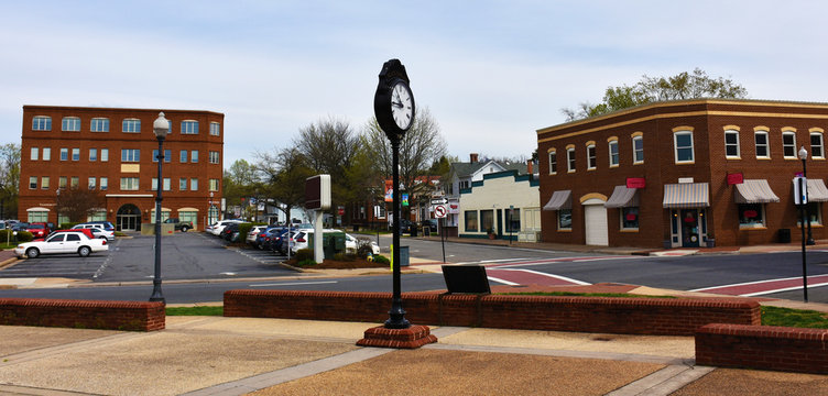 Old Town Manassas, Virginia