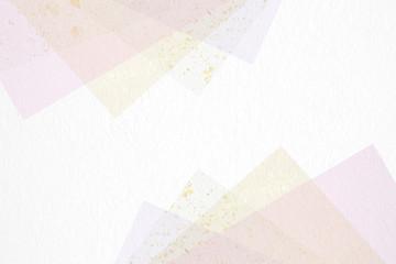 和紙による背景素材(ブルー系を基調としたパステルカラー)