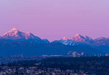 Fototapete - skyline of vancouver