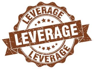 leverage stamp. sign. seal