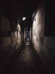 Photo sur Aluminium Ruelle etroite Path to the Past