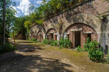 Tuinposter Rudnes 旧陸軍施設