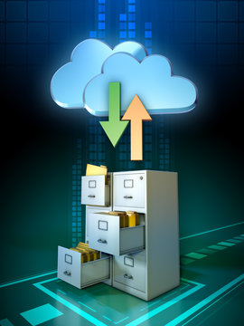 Local files and cloud storage