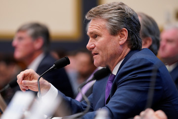 Brian T. Moynihan, chairman & CEO of Bank of America, testifies before a House Financial Services Committee hearing on Capitol Hill in Washington