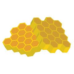 orange and yellow 3d honeycomb
