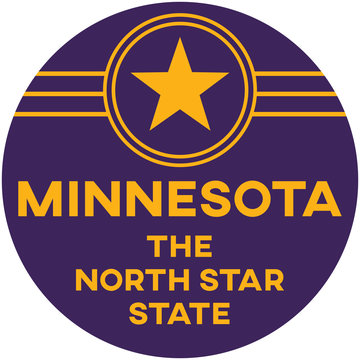 minnesota: the north star state | digital badge