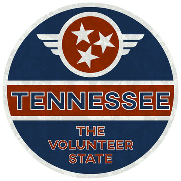 tennessee: the volunteer state | digital badge