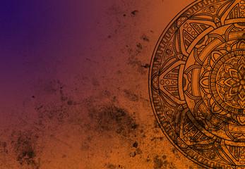 Mandala Template texture background