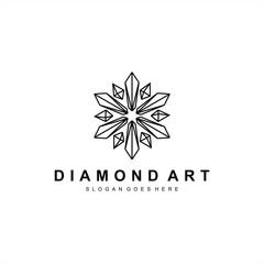 logo design diamond and jewelry