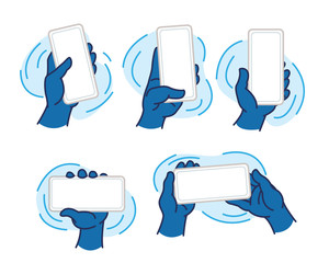 Hands Holding Mobile Devices, Cool