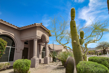 Wall Murals Arizona Scottsdale Arizona southwest style home