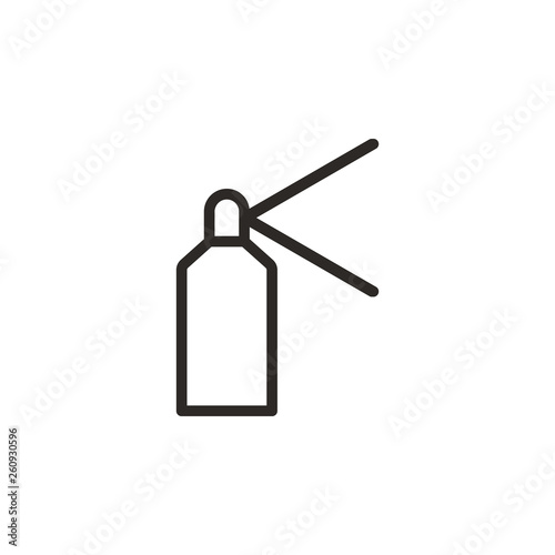 Spray vector icon  Element of design tool for mobile concept