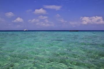 Canvas Prints Ocean Nungwi Beach, Zanzibar, Tanzania, Indian ocean