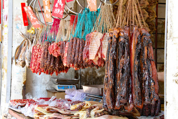 chinese salami of hong kong