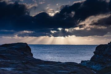 Sun Rays Seascape