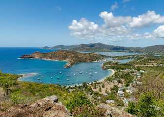 Antigua, View from Shirley Heights
