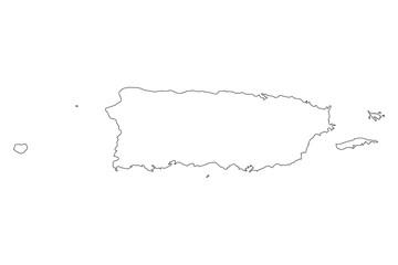 Puerto Rico Vector