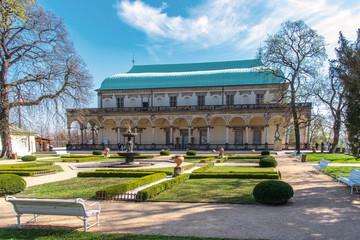 Summer Palace Belvedere in Prague