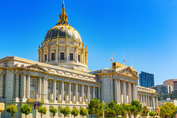 San Francisco City Hall.