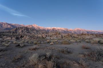 The Buttermilk Hills at Sunrise, Bishop California