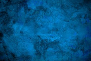 青いグランジ背景素材