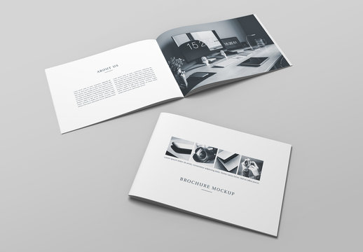 Open and Closed Catalogs Mockup