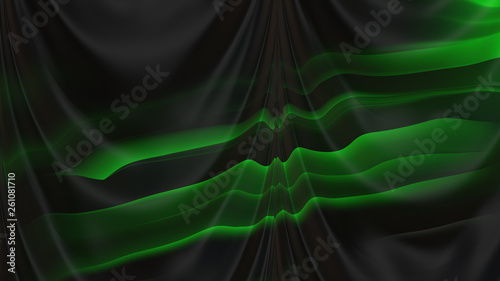 Abstract Cool Green Texture Background Design Stock Photo