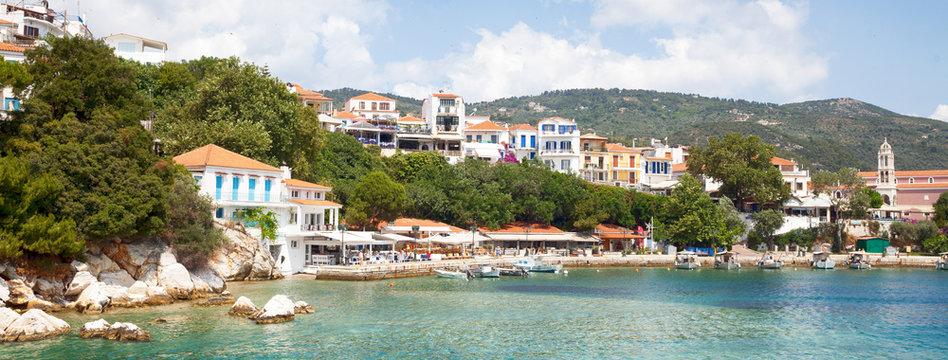 Greece. Skiathos Island. Travel during the summer holiday season. Tourist attractions.