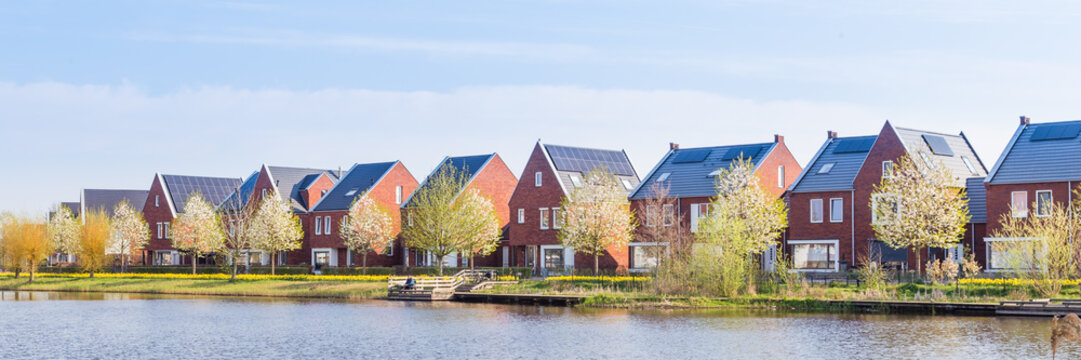 Modern Dutch houses