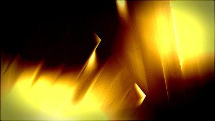 Abstract Black and Yellow Texture Background Design